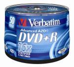 Verbatim DVD recordable DVD+R, 50 stuks