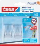 Tesa klevende haak voor transparante en