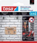 Tesa klevende schroef voor ruwe ensolide