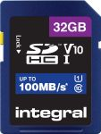 Integral geheugenkaart SDHC, 32 GB