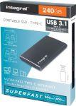 Integral draagbare SSD harde schijfUSB 3