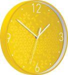 Leitz WOW Wandklok, geel