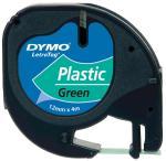 Dymo Letratag tape plastic 12 mm x4 m, g