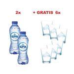 Actie: 2xSpa Reine water (549) + 1xSpa g