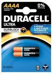 Duracell batterijen Ultra DuralockAAAA,