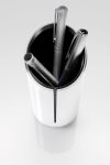 Pennenkoker Sigel SI-SA100 zwart/wit