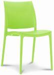 Chaise de cantine / chaise de patio Maya vert