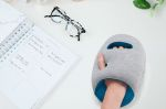 Ostrichpillow Mini, desk and travel pillow, blue reef
