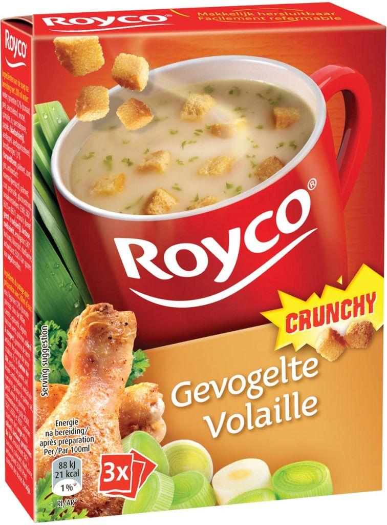 royco minute soup gevogelte korstjes 20 stuk kopen dbs office