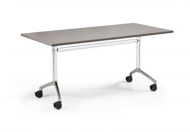 Turn Pliante 140 Blanc X Pied De Dessus Medium Table 70 amp;go Chêne OnkN80wPX