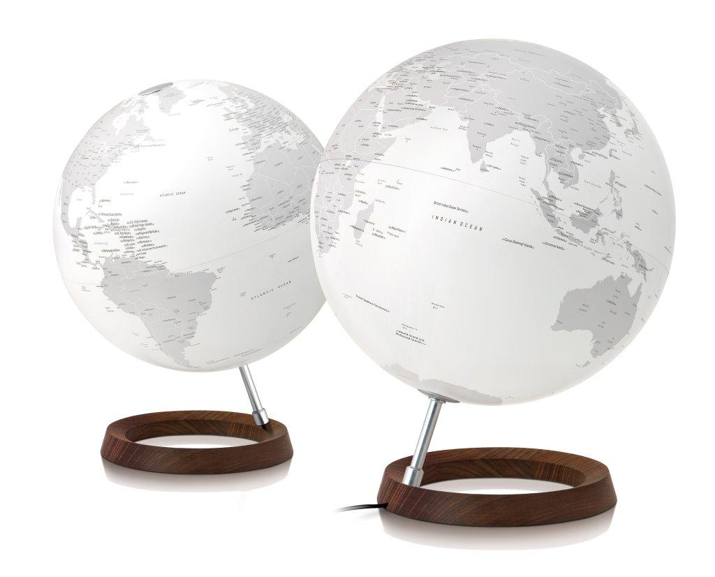 Wereldbol Met Licht : Globe full circle reflection diameter 30cm met verlichting kopen